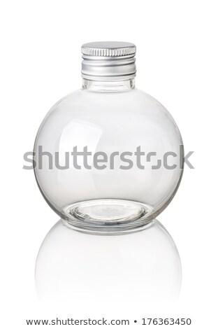 Isolato sferico bottiglia acqua retro store Foto d'archivio © Zerbor