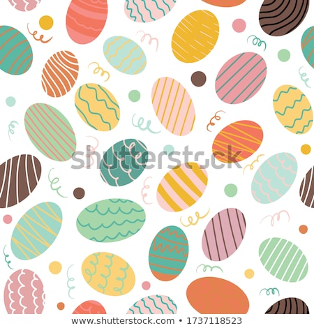 beautiful easter egg decoration colorfull eggs  Stock photo © juniart