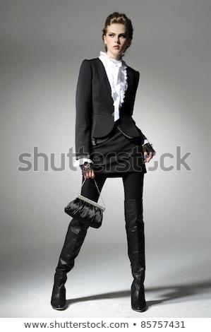 Jovem moda mulher um em Foto stock © feedough