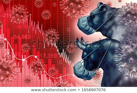 несут рынке бизнеса Финансы богатство Сток-фото © Lightsource