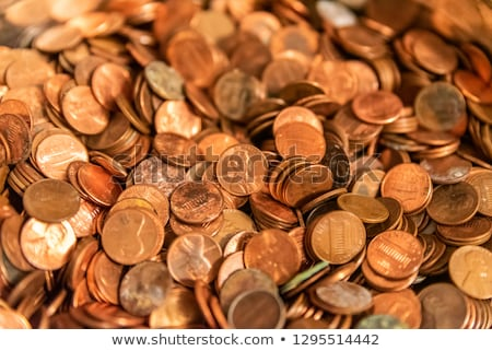 Penny Background Image stock photo © brm1949