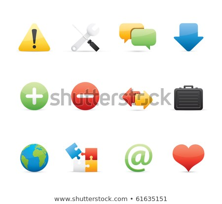 comments icon in puzzle Stock photo © Istanbul2009