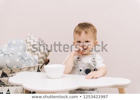 bekleme · ilk · bir · bebek · ay - stok fotoğraf © filipw