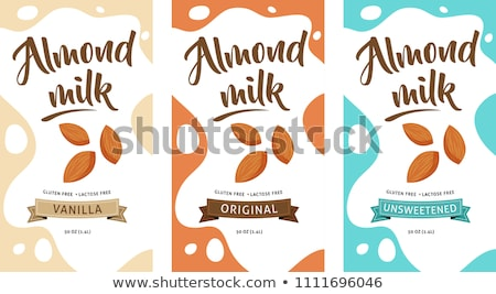 Home made fresh soy milk Stock photo © nessokv
