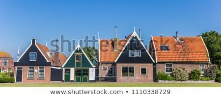 オランダ語 村 島 海 ストックフォト © ivonnewierink