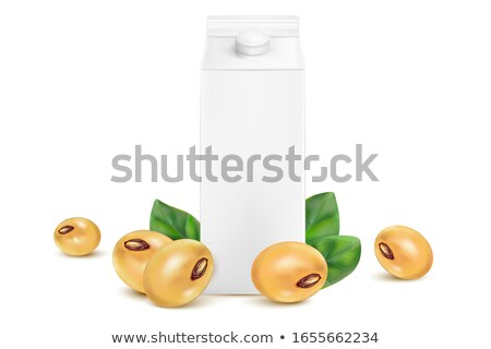 soybean soymilk nutrition beverage stock photo © xuanhuongho