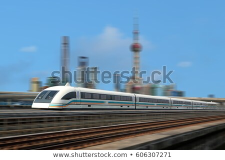shanghai maglev train Stock photo © wxin