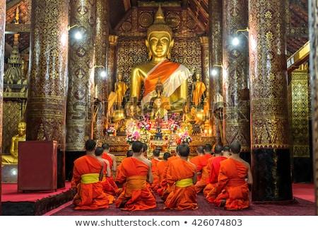 Buddha Statue - Luang Prabang Laos Stock photo © jeayesy