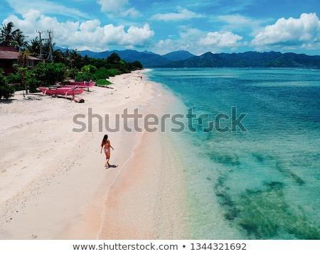 mar · ar · Indonésia · água · verão · azul - foto stock © janpietruszka