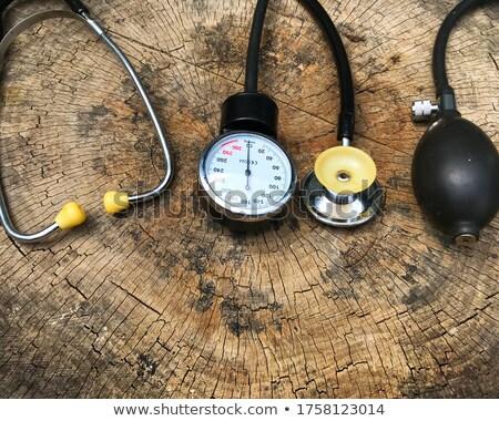 Stockfoto: Nood · medische · zorg · macro · foto · medische · kruis