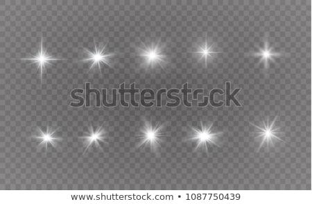 Wektora zestaw obiektyw gwiazdki elementy Zdjęcia stock © Elisanth