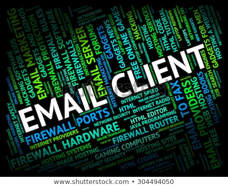 Email Client Means Send Message And Buyers Stock photo © stuartmiles