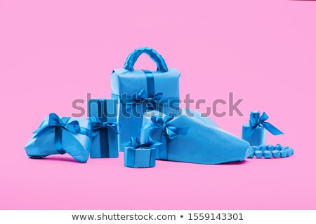 smartphone wrapped with color ribbon stock photo © teerawit