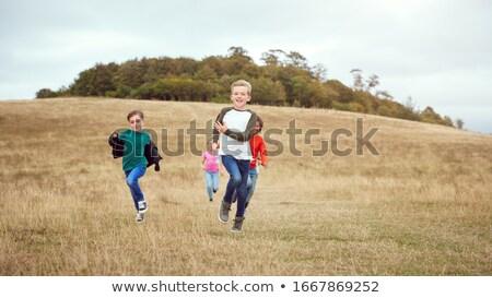 少女 · 搭乗 · ダウン · 丘 · 女性 · スポーツ - ストックフォト © paha_l