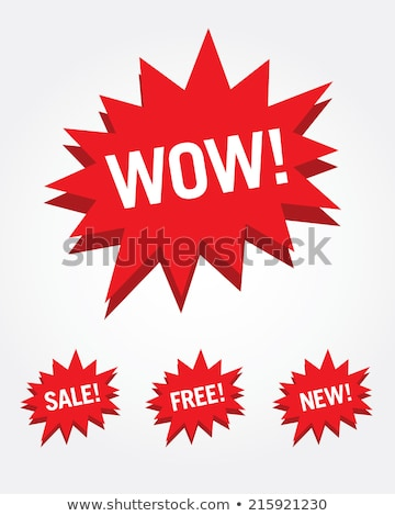Sold Burst Sign stock photo © feverpitch