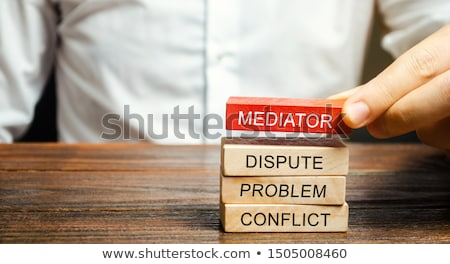 Mediation Resolution Stock photo © Lightsource