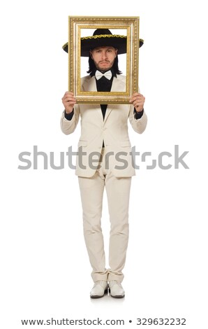 achtergrond · frame · teken · ruimte - stockfoto © elnur