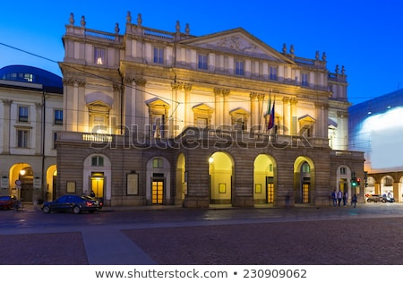 La Scaka opera house building in Milan, Italy Stock photo © AndreyKr