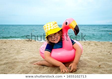 девушки купальник резиновые кольца модель Сток-фото © bezikus