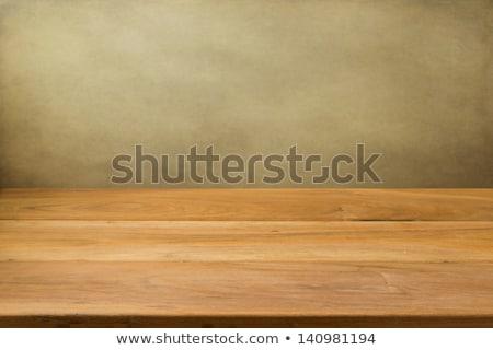 Perfetto tavolo in legno parola bambino sfondo istruzione Foto d'archivio © fuzzbones0