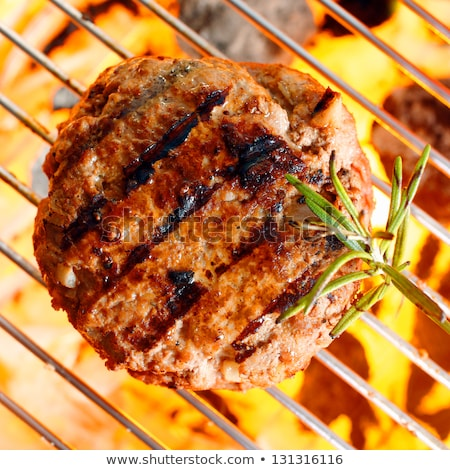 Pan seared burger Stock photo © Digifoodstock