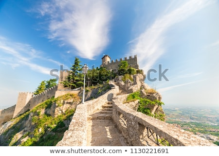 tower and fortress San Marino Italy Stock photo © goce