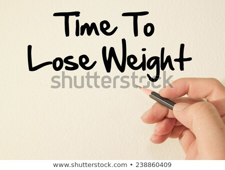 Key with message Weight Loss Stock photo © fuzzbones0