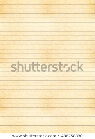 垂直 サイズ 黄色 シート 古い紙 テクスチャ ストックフォト © Evgeny89