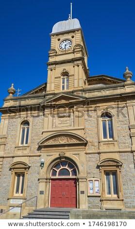 Albany Town Hall Stock photo © zambezi