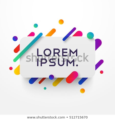 Abstract purple background with geometric shapes overlapping Stock photo © punsayaporn