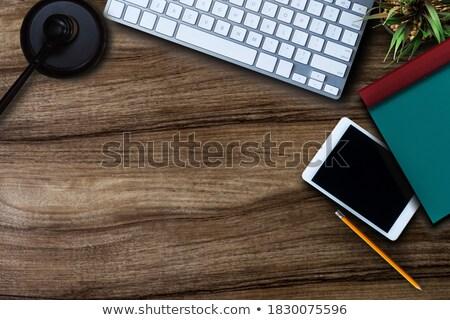 Juiz gabela secretária Foto stock © AndreyPopov
