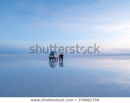 Stock fotó: Napfelkelte · dzsip · Bolívia · 2015 · nap · legnagyobb