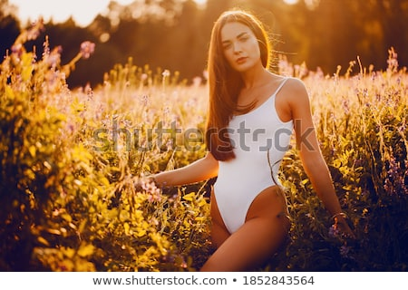 woman in swimsuit outdoors stock photo © artfotodima