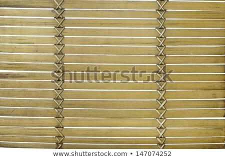 зеленый бамбук сложенный место Сток-фото © Digifoodstock