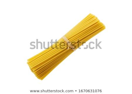 bundle of uncooked spaghetti Stock photo © Digifoodstock