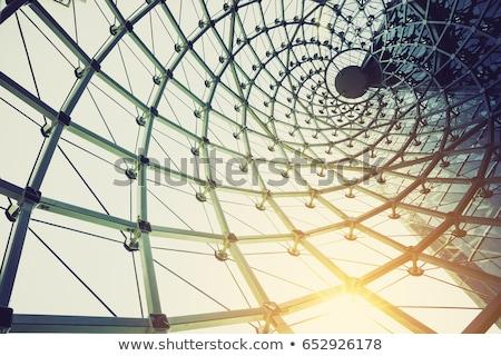 épület építkezés váz beton zsaluzás állvány Stock fotó © fouroaks