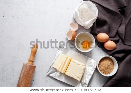 şeker · yumurta · şeker · el · yapımı · söğüt - stok fotoğraf © lubavnel