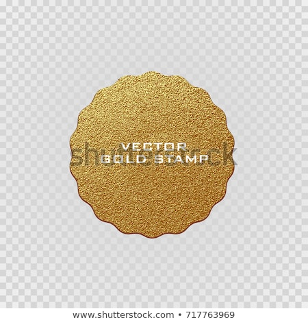golden offer label and badge design vector stock photo © sarts
