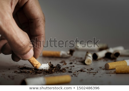 Extinguished cigarette Stock photo © All32