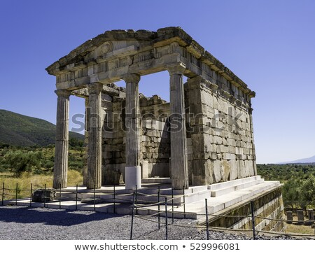 Ruins of the ancient Greek city of Messinia, Peloponnese, Greece stock photo © ankarb