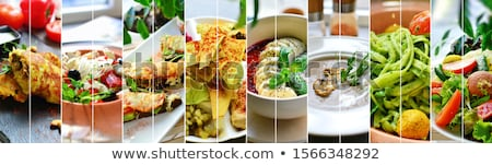 diversity in food stock photo © lightsource