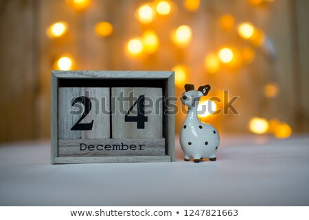 Сток-фото: декабрь · красный · двадцать · четвертый · белый