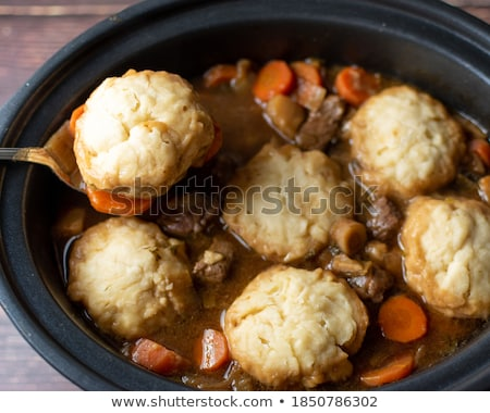 hot cooked dumplings  Stock photo © ssuaphoto