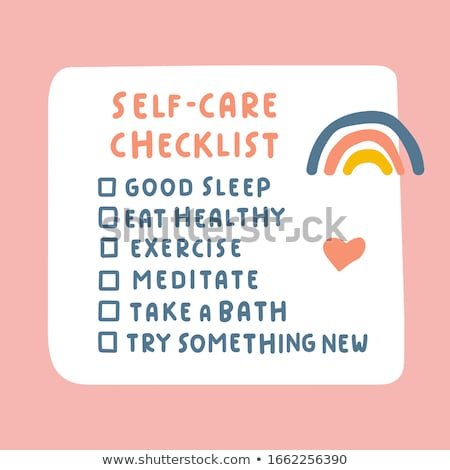 self care concept stock photo © 72soul