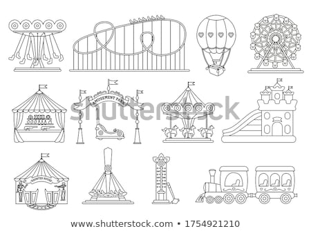 Balloons in a shooting gallery Stock photo © IS2