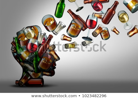 Alkohol Bildung Bewusstsein Risiko trinken Verbrauch Stock foto © Lightsource