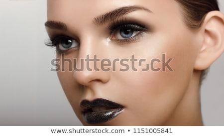 Közelkép fiatal nő pompás smink nő szexi Stock fotó © monkey_business