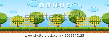 Bônus jogo modelo jardim laptop assinar Foto stock © bluering