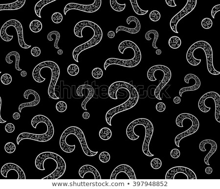 Mathematical Equations Question Mark Stock photo © lenm
