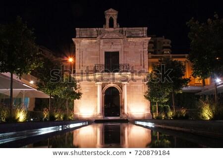 Kápolna szűz kikötő Malaga templom kék Stock fotó © benkrut